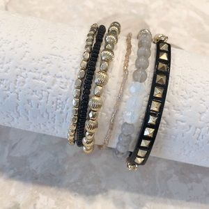 MUDD Layered Bracelets...Set of 6